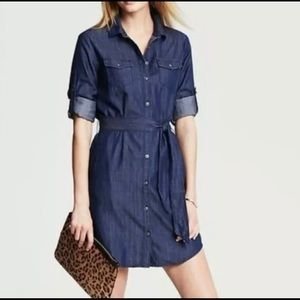 chambray Banana Republic dress